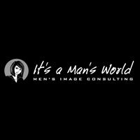 Its A Mans World Logo